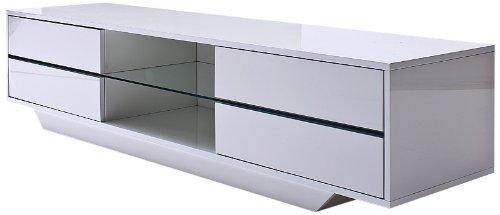 Kleiderschrank weiß schwarz hochglanz  ▻ Eck Tv Schrank in weiß ++ Hochglanz ++ NEU
