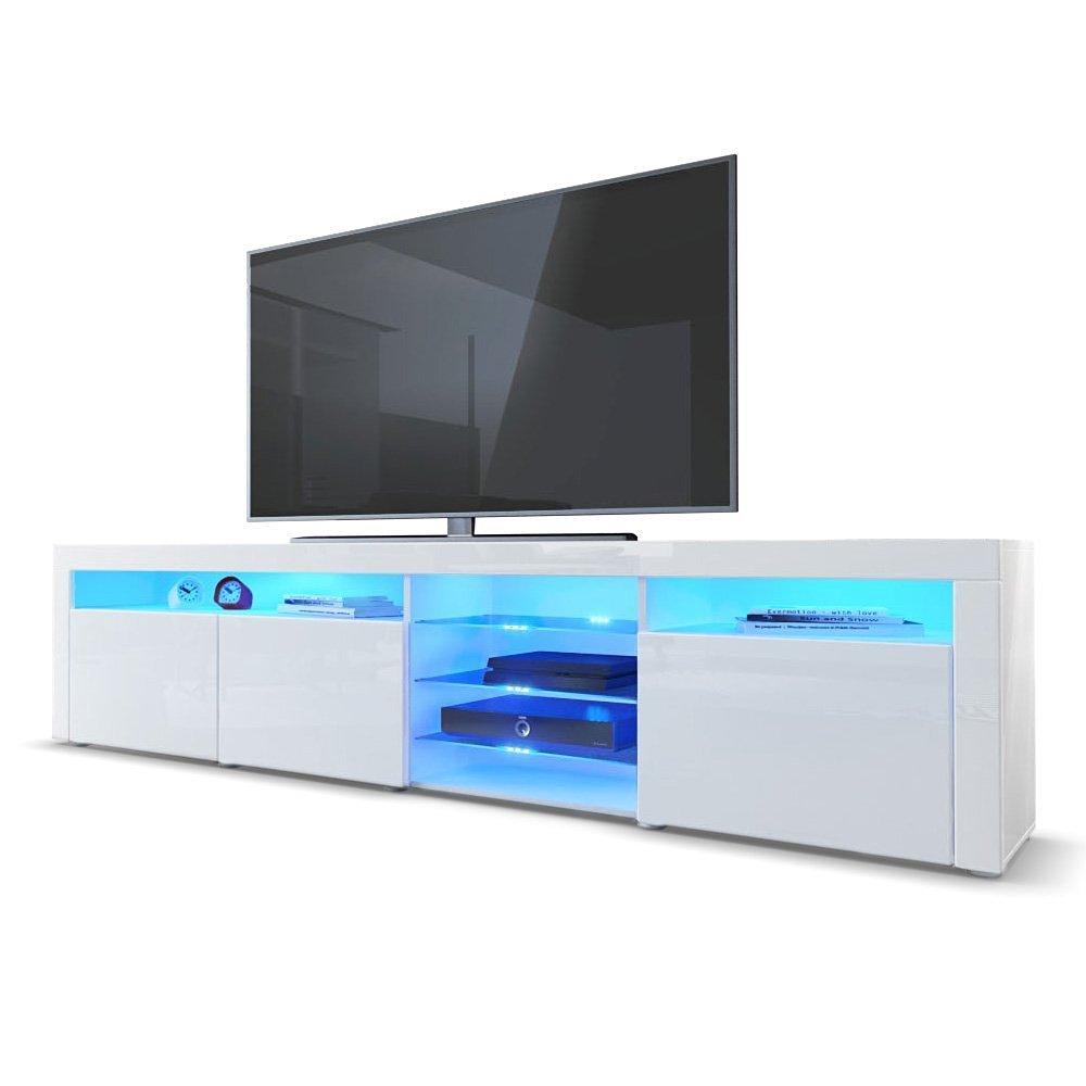 Tv lowboard led  ᐅ TV Lowboard Weiß Hochglanz ++ TOP 6 ++ NEU